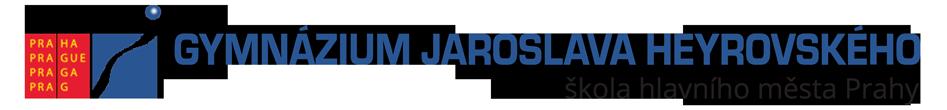 Gymnázium Jaroslava Heyrovského Logo